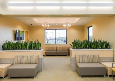 Surgery Center Services of America ASC Front Waiting Room