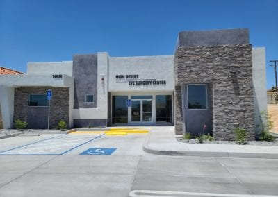 High Desert Eye Surgery Center Front View